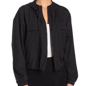 Z by Zella BNWT black short hooded jacket Xlarge